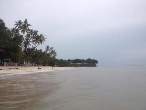 Alona Beach, Bohol on a wet season (tripadvisor.com)