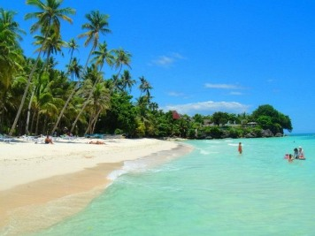 Alona Beach, Bohol on a dry season (lifebeyondthesea.com)